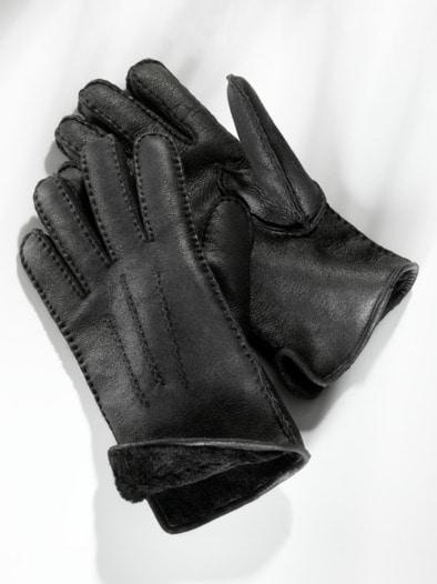 Lammfell-Fingerhandschuhe