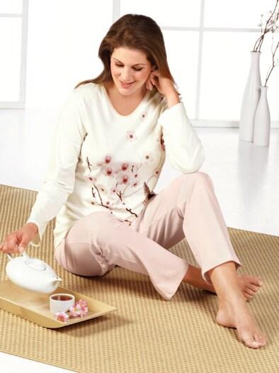 Schlafanzug Kirschblüte