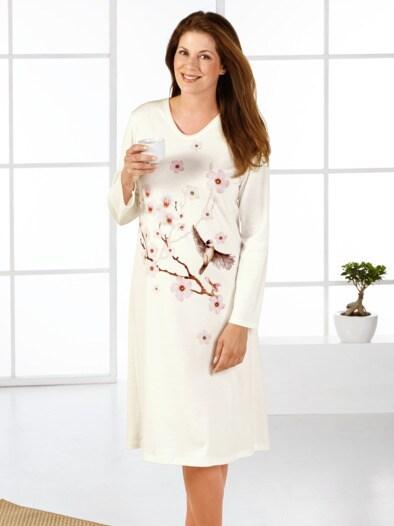Nachthemd Kirschblüte