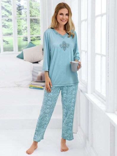 Schlafanzug Paisley