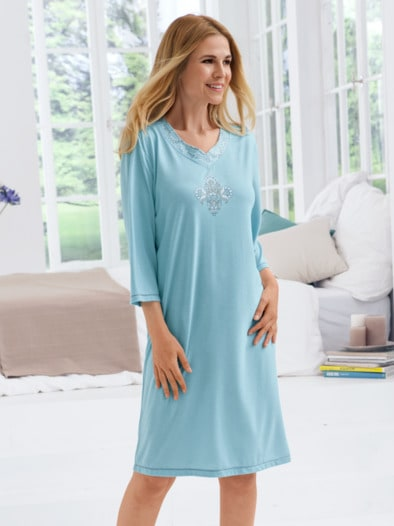 Nachthemd Paisley