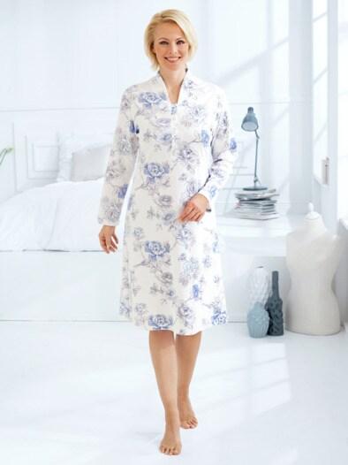Baumwoll-Nachthemd Rosen-Traum