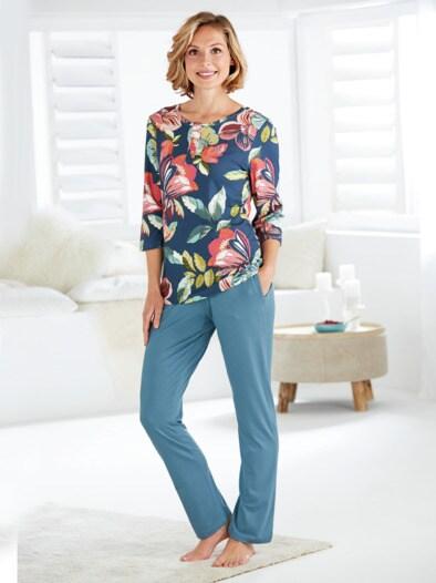 Seidenweich-Jersey-Schlafanzug