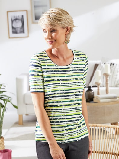 Aloe vera-Shirt Sommerfrische