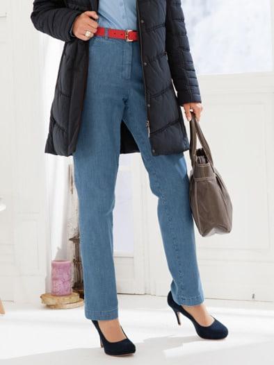 Damen Thermo-Komfortbund-Jeans