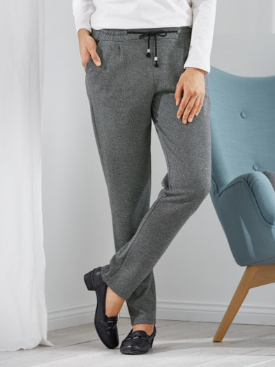 Supersoft-Jersey-Hose Joggingstil