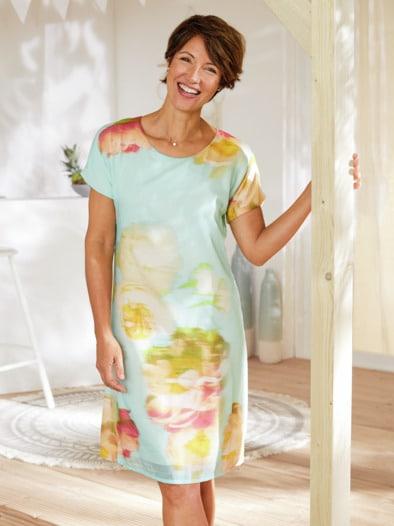 Kleid Blumenaquarell