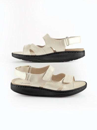 Rollsohlen-Sandale