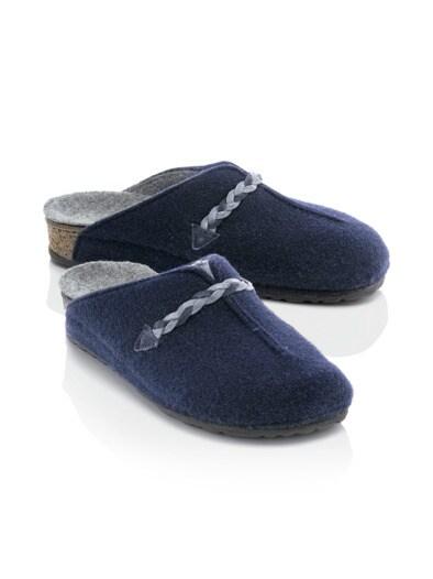 Wollfilz-Komfort-Pantolette
