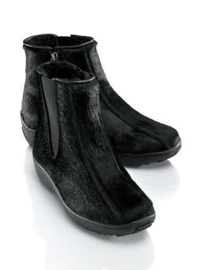 Exquisit-Fell-Stiefelette