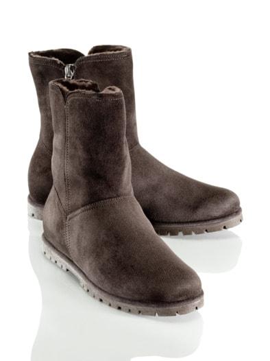 Premium-Lammfell-Stiefel