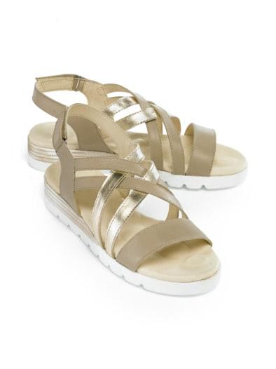 5-Reflexzonen-Sandale Tres chic