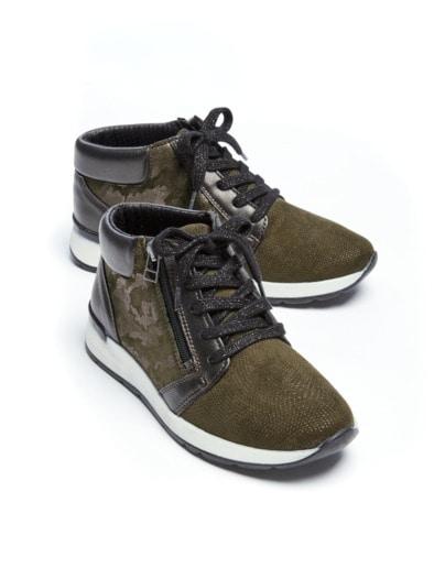 f79f8c0a3feab2 Hallux-Sneaker Trendy high Grün im Online-Shop bequem kaufen