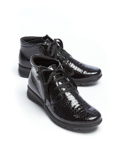 Luftkissen-Kroko-Boots Ultraleicht