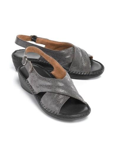 Supersoft-Sandalette Rundum Weich