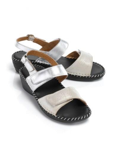 Supersoft-Sandalette Seidenglanz