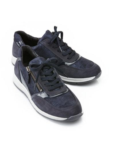 Reißverschluss-Sneaker Easyfit