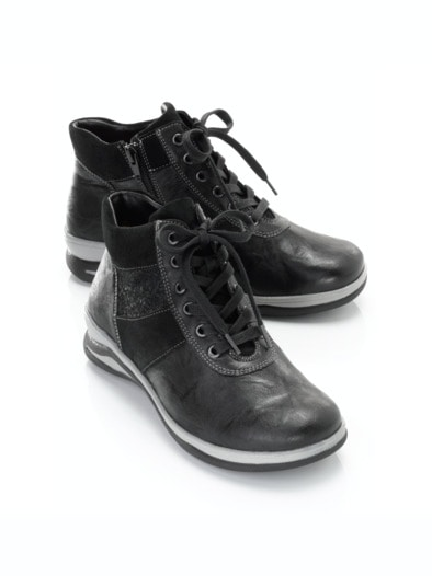 hallux sneaker sporty in farbe schwarz im online shop bestellen avena. Black Bedroom Furniture Sets. Home Design Ideas