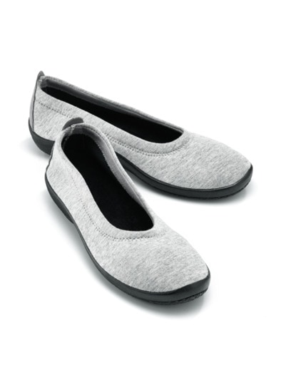 Hallux Soft Slipper Night&Day | Grau | Avena