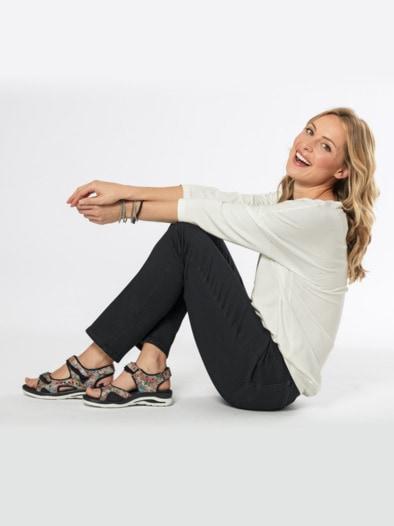 BrownBlau Loozykit Frauen Bequeme Plattform Sandale Strand