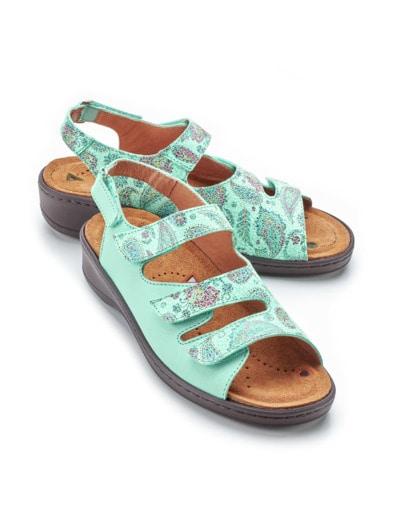 Magnetfußbett-Sandale