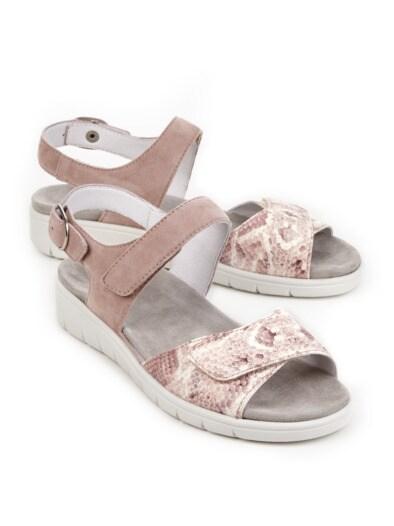 Luftpolster-Sandale Weitenkomfort
