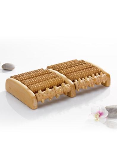 Fuß-Massageroller Holz