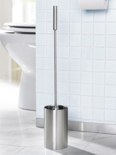 Edelstahl WC-Garnitur