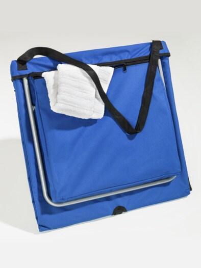 2 in 1-faltbare Liege und Tasche