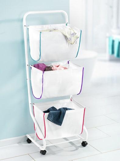 Wäschesammler und Sortierer