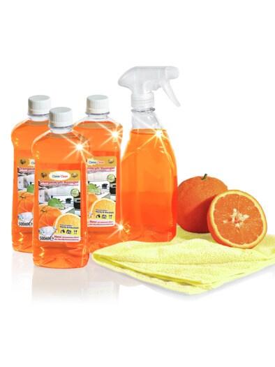 Power Orangenkraft-Reinigungsset