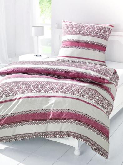 Baumwoll-Bettwäsche Bordüren