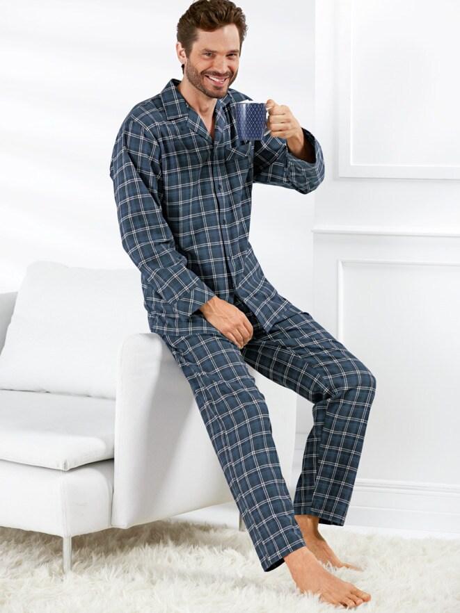 Thermoflanell-Schlafanzug