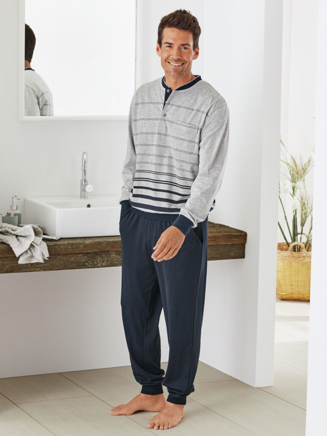 Klimasoft-Schlafanzug Gentleman
