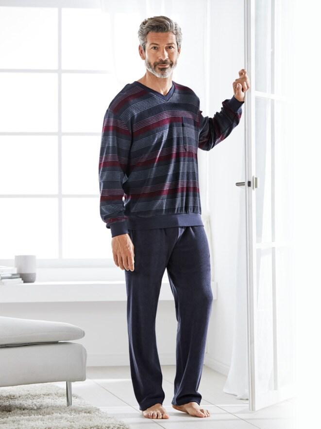 Thermofrottier-Schlafanzug