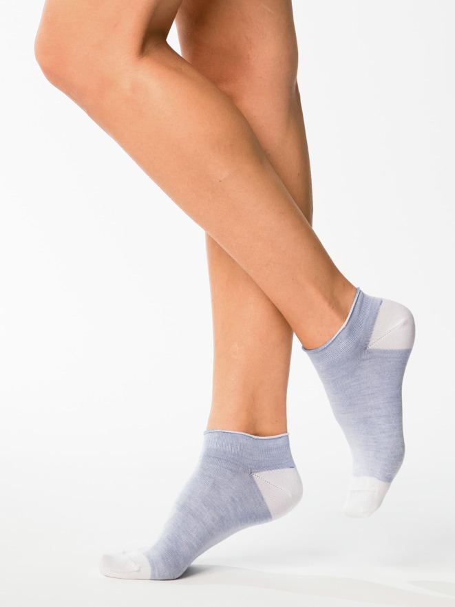 Baumwoll-Sneakersocken 2 Paar