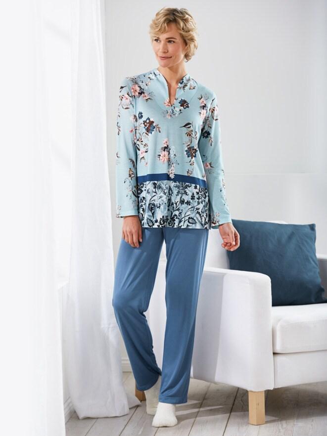 Soft-Schlafanzug Traumblüten
