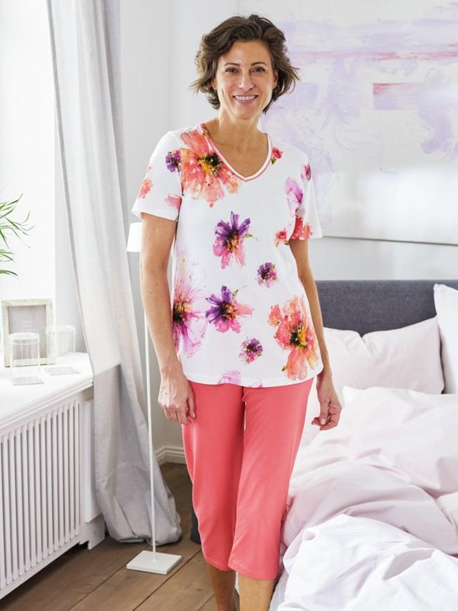 Schlafanzug Sommerblüte