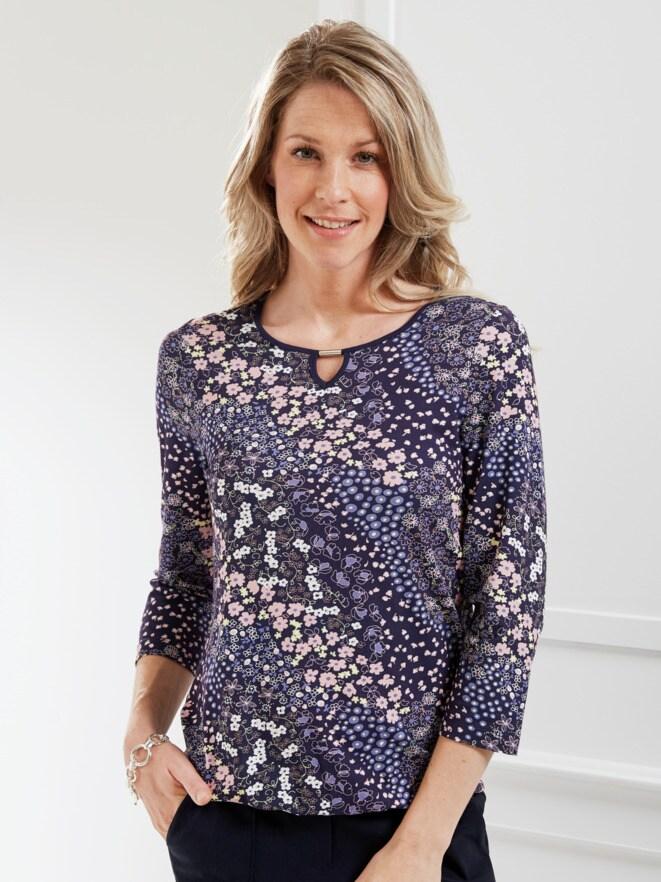 Blouson-Shirt Millefleurs