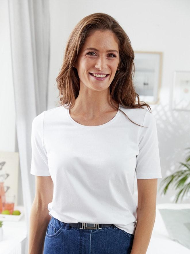 Wohlfühl-Basic-Shirt