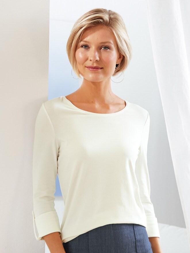 Klimasoft-Shirt 3/4-Arm