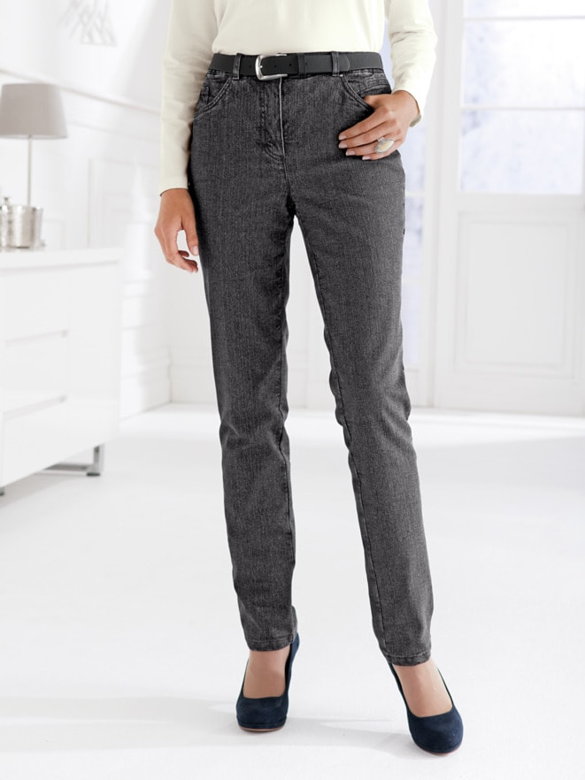 Damen-Thermo-Jeans 5-Pocket