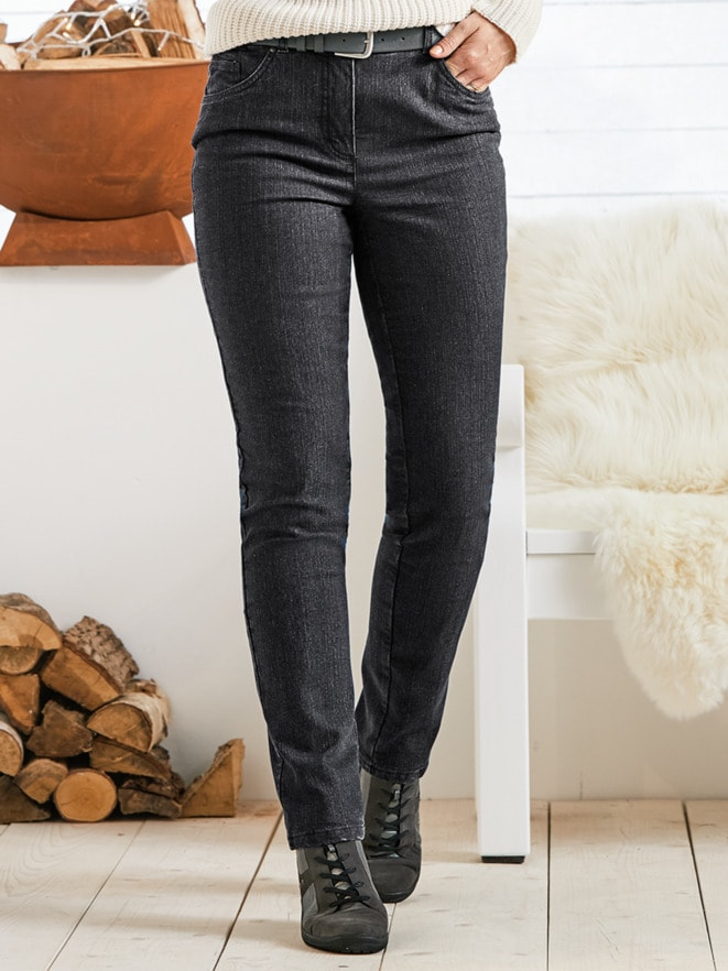 Damen-Thermojeans