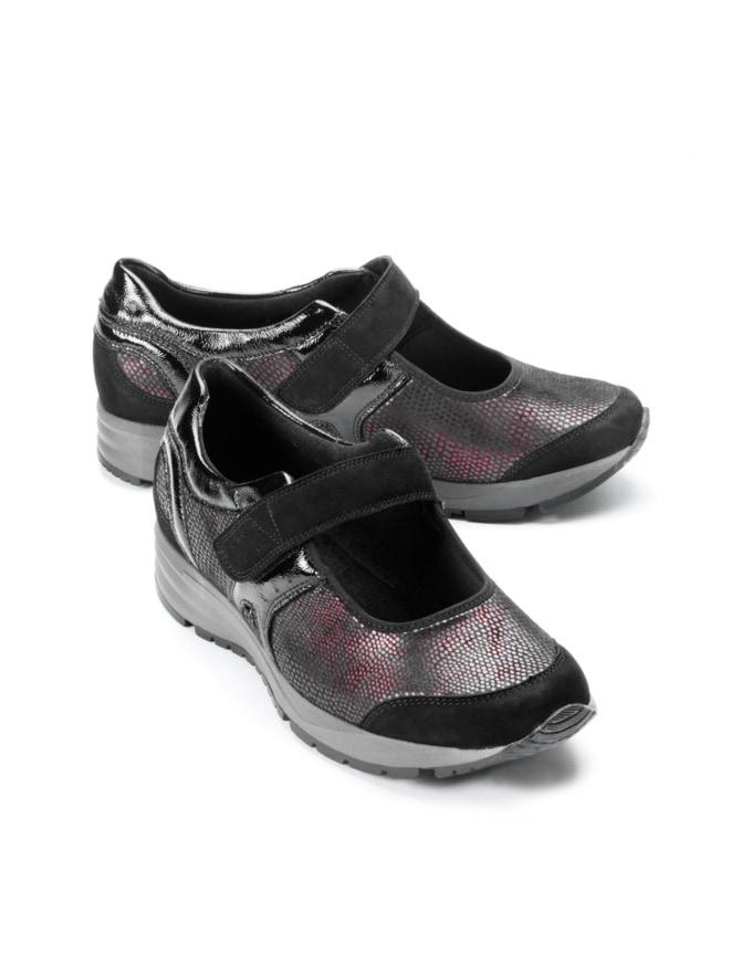 Hallux-Wohlfühl-Klett-Sneaker