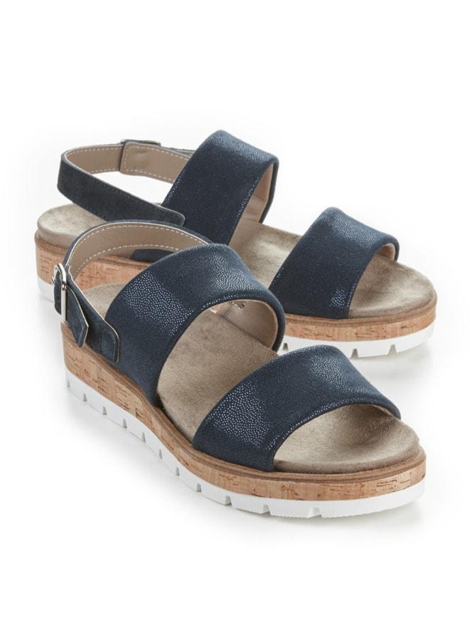 Hallux-Sandale Doppel-Polster