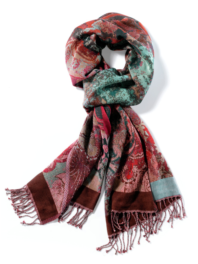 Jacquard-Schal Multicolor