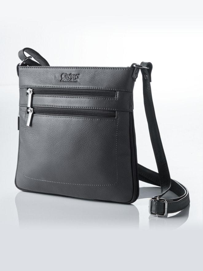 Leder-Handtasche Vario
