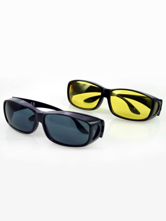 Tag- und Nacht-Brillen 2er Set