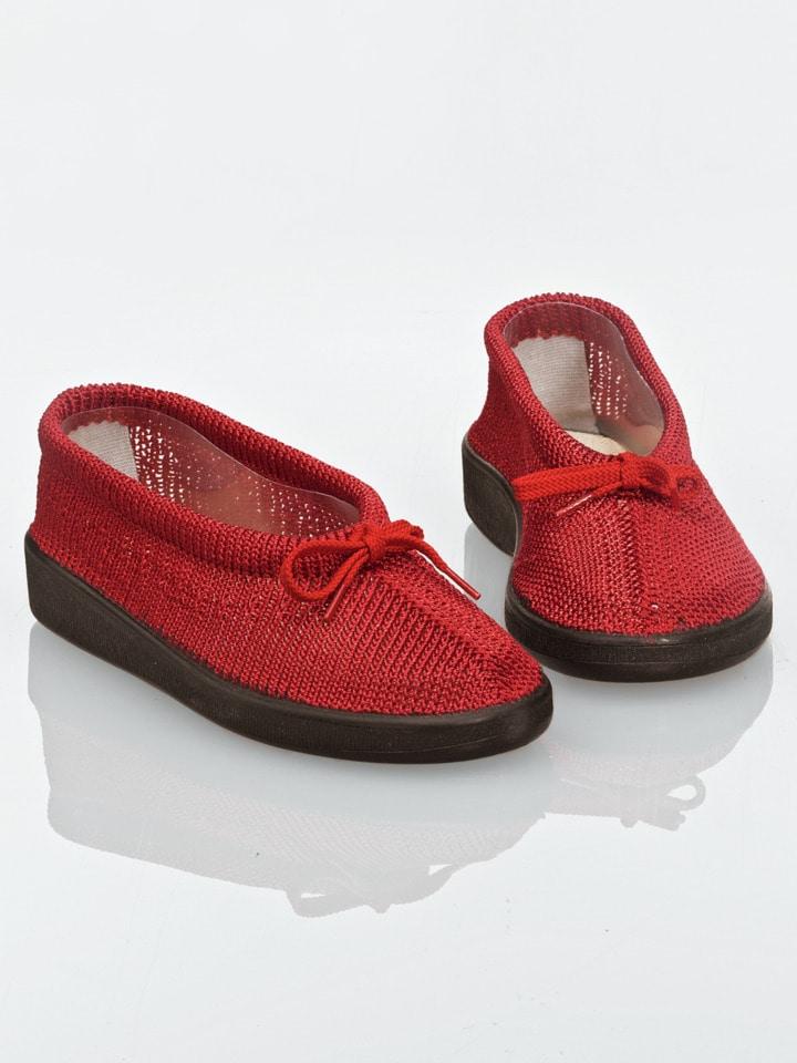 hallux slipper mit schleife avena gesundheitsprodukte. Black Bedroom Furniture Sets. Home Design Ideas