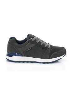 Herren-Allwetter-Sneaker Aquastop Grau/Blau Detail 7
